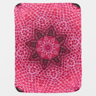 FRUIT BOHEMIAN KALEIDOSCOPIC GEOMETRIC MANDALA BABY BLANKET