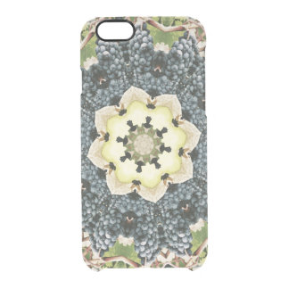 FRUIT BOHEMIAN KALEIDOSCOPIC GEOMETRIC MANDALA CLEAR iPhone 6/6S CASE