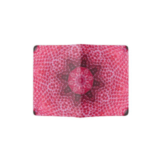 FRUIT BOHEMIAN KALEIDOSCOPIC GEOMETRIC MANDALA PASSPORT HOLDER