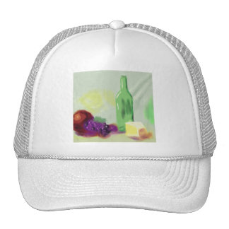 Fruit Bottle Cheese Art Trucker Hat