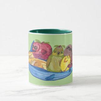 Fruit Bowl Animals Mug