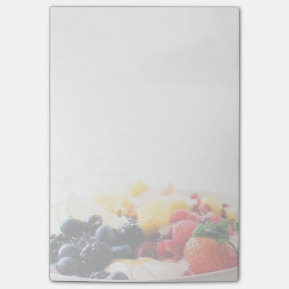 Fruit Bowl Breakfast Food Snack Nutrition Post-it Notes