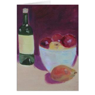 """Fruit Bowl"" Card"