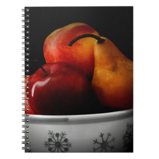 /Fruit Bowl Spiral Notebook