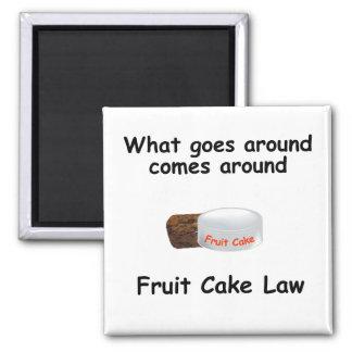 fruit cake law magnet
