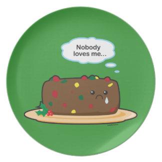 Fruit Cake Plate