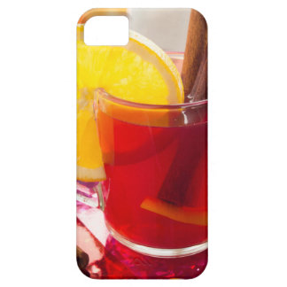 Fruit citrus tea with cinnamon and orange case for the iPhone 5