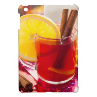 Fruit citrus tea with cinnamon and orange iPad mini cover