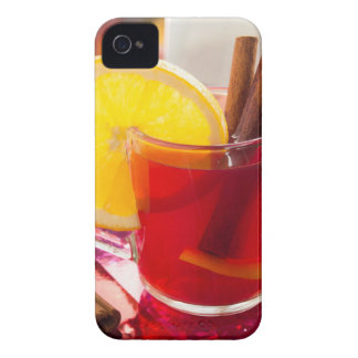 Fruit citrus tea with cinnamon and orange iPhone 4 cover