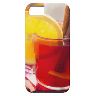 Fruit citrus tea with cinnamon and orange iPhone 5 cover
