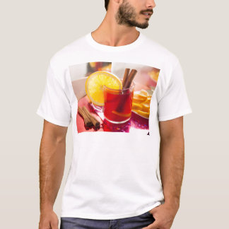 Fruit citrus tea with cinnamon and orange T-Shirt