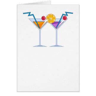 Fruit Cocktails Card