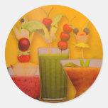 Fruit cocktails sticker