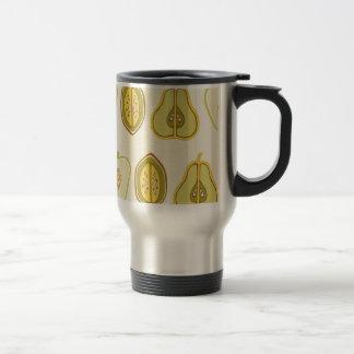 Fruit Design Apples Pears Avocados Kitchen Gifts Travel Mug