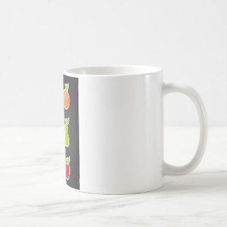 fruit design coffee mug