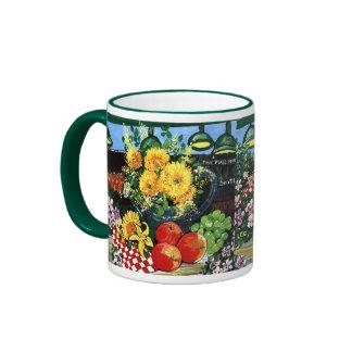 Fruit & Flowers Coffee Mug