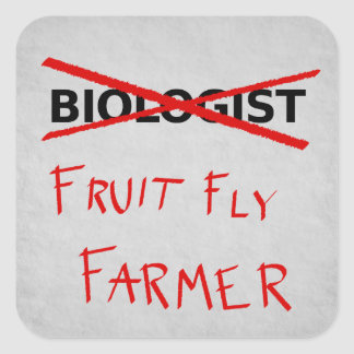 Fruit Fly Farmer Sticker