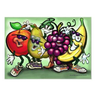Fruit Gang Invitation