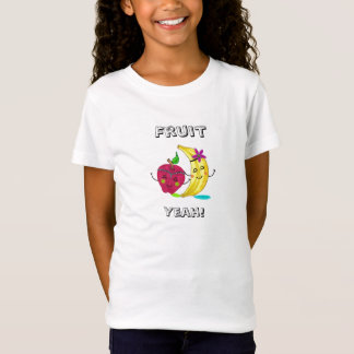 Fruit Girls' Fitted Babydoll T-Shirt