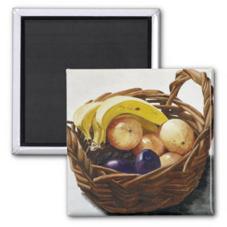 Fruit in a Basket Magnet