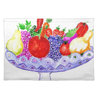 Fruit in Vase Art Placemat