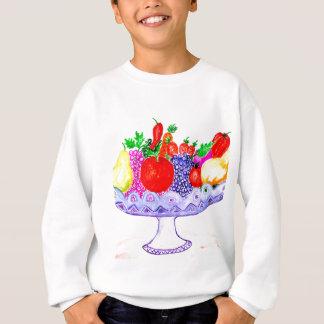 Fruit in Vase Art Sweatshirt
