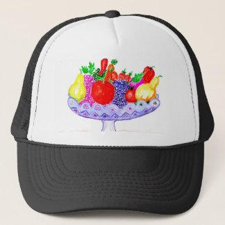 Fruit in Vase Art Trucker Hat