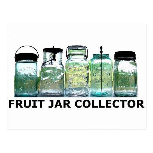 Fruit Jar Collector Vintage Mason Canning Jars Post Card