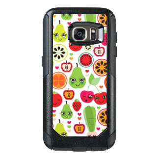 fruit kids illustration apple OtterBox samsung galaxy s7 case