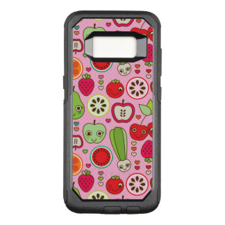 fruit kitchen illustration pattern OtterBox commuter samsung galaxy s8 case