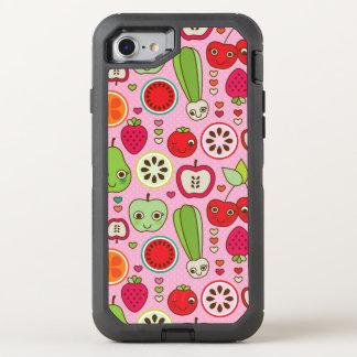 fruit kitchen illustration pattern OtterBox defender iPhone 7 case