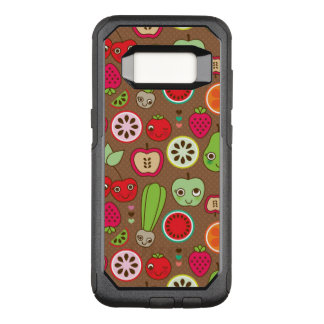Fruit Kitchen Pattern OtterBox Commuter Samsung Galaxy S8 Case