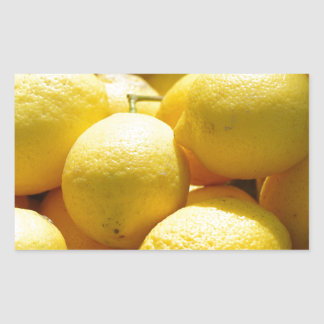 Fruit: Lemons Sticker