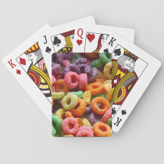 Fruit loops playing cards