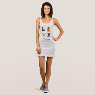 Fruit love sleeveless dress