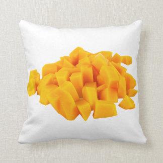 Fruit Mango Yellow Throw Pillow