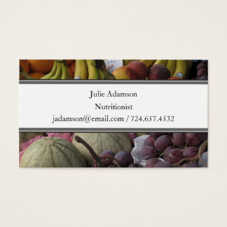Fruit Market Business Card