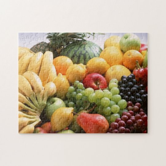 Fruit Medley Photo Puzzle