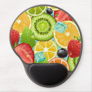 Fruit Mix by storeman Gel Mouse Pad