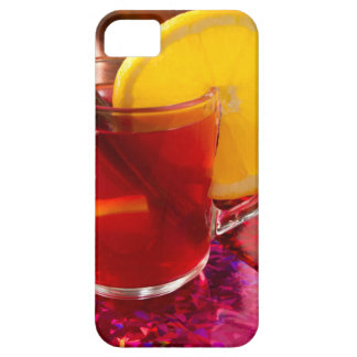 Fruit mulled wine with cinnamon and orange iPhone 5 case