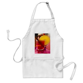 Fruit mulled wine with cinnamon and orange standard apron