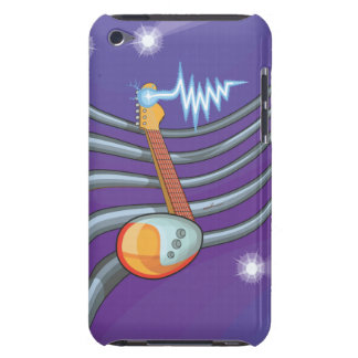 Fruit Note Guitar Barely There iPod Case