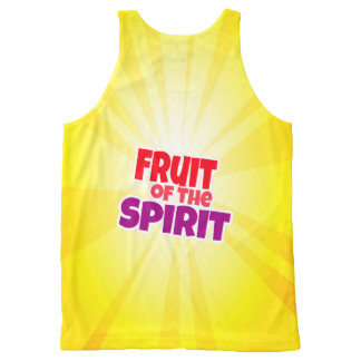 Fruit of the spirit banana tank top