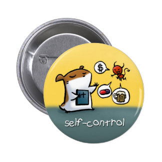 Fruit of the Spirit Button Badge (Self-Control)