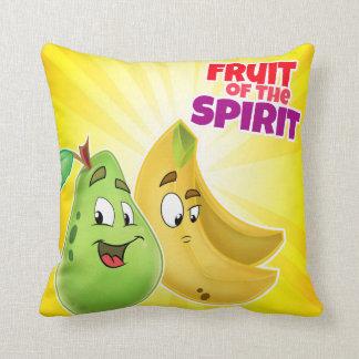 Fruit of the spirit cartoon pillow