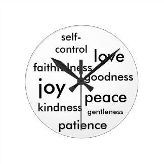Fruit of the Spirit Clock