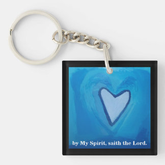 FRUIT OF THE SPIRIT Double-Sided SQUARE ACRYLIC KEYCHAIN