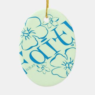 Fruit of the Spirit: Faith Ceramic Ornament