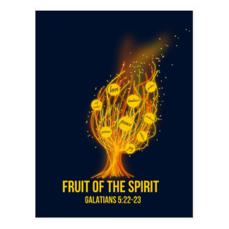 Fruit of the Spirit - Galatians 5:22-23 Postcard