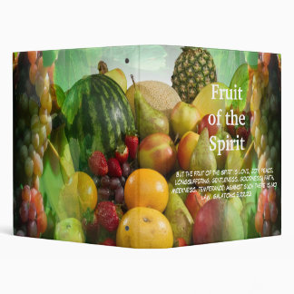 Fruit of the Spirit - Galations 5:22,23 3 Ring Binders